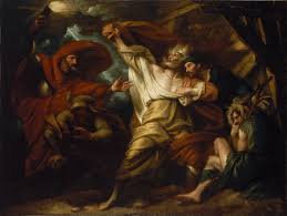 what he rightly is king lear as king and man parent and child king lear by benjamin west