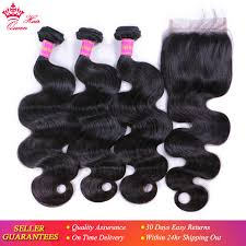 <b>Queen Hair Products Brazilian</b> Virgin Hair Body Wave Brazilian Hair ...
