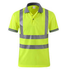 TopTie <b>Neon</b> Yellow Polo Shirts Hi Vis Short Sleeve Safety Shirt with ...