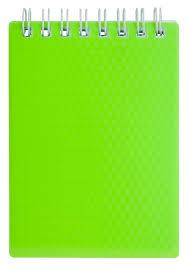 """<b>Блокнот Hatber</b> """"<b>Diamond</b> Neon"""" зеленый 80 листов в клетку ..."""