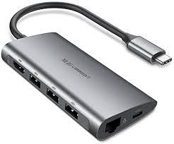 <b>UGREEN USB</b>-<b>C</b> 3.1 to 3.0 HUB+Gigabit Ethernet Adapter SD <b>Card</b> ...