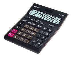 Купить <b>Калькулятор CASIO GR-12</b>, черный в интернет-магазине ...