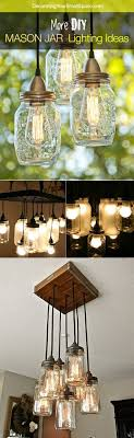 more diy mason jar lighting ideas and tutorials austin mason jar pendant lamp