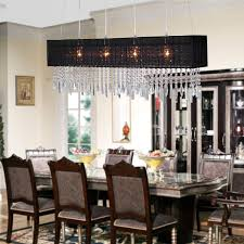 Modern Crystal Chandeliers For Dining Room Collection Modern Dining Room Chandeliers Pictures Home