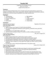 of a call center resume  seangarrette cocustomer service resume  customer service resume   of a call center resume bpocallcentreresumesample