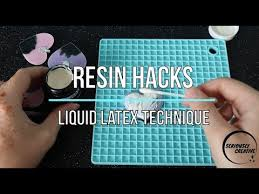 <b>Resin</b> Hacks -Liquid Latex Technique | Seriously <b>Creative</b> | <b>Resin</b> ...