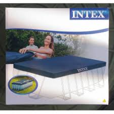 Отзывы о <b>Тент Intex</b> каркасного бассейна Rectangular <b>Frame</b>