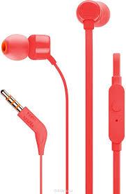 <b>Наушники JBL T110</b>, <b>red</b>, цвет красный, код 6925281927638. 16 ...