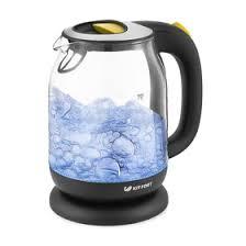 <b>Чайник электрический Kitfort KT</b>-<b>654</b>-4, 2200 Вт, 1.7 л, стекло ...