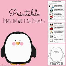 FREE printable March Writing Prompts Calendar  Perfect for journal writing or writing center  Thanks