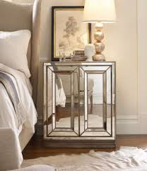 image contemporary mirrored bedroom with mirrored side table brilliant decorating mirrored furniture target