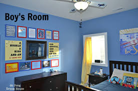 interior design bedroom dark blue blue themed boy kids bedroom