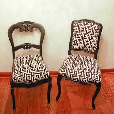Reupholstering Dining Room Chairs How To Recover Dining Room Chairs Recover Dining Chairs On Custom