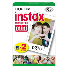 <b>Fujifilm Instax Mini</b> Instant Film Twin Pack - White (16437396) : Target