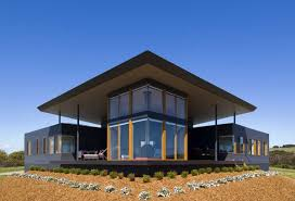Australian Architects   Modern House Designs   Page Panoramic House Plan on Australian Coast