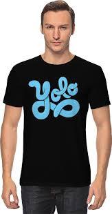 <b>Футболка классическая Printio</b> YOLO (You Only <b>Live</b> Once) #715890