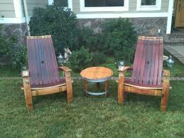 wine barrel patio furniture alpine wine design outdoor