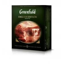 Отзывы о <b>Черный чай Greenfield English</b> Edition