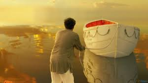 truth big fish and life of pi film and religion calm water and sky reflection