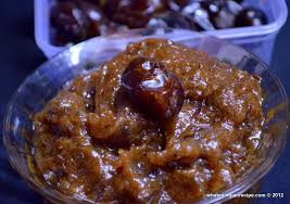 Image result for khajoor halwa