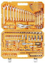 <b>Универсальный набор инструментов 137</b> предметов + фонарь ...
