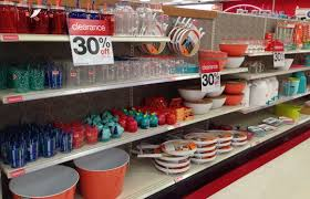 kitchen items store: targetclearkitchenitem my store had a full row of kitchen items