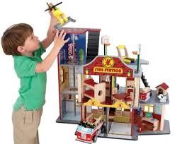 <b>Kidkraft</b> Набор <b>Пожарно</b>-<b>Спасательная станция</b> Делюкс (Основная)