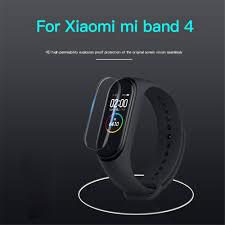 <b>2PCS</b> Xiaomi Mi Band 4 Wristband Screen Protector <b>Ultrathin</b> TPU ...