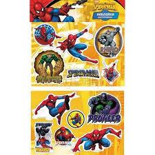 <b>Наклейки ACTION</b>! <b>Объемные SPIDERMAN</b> 21*14,5 см: купить ...
