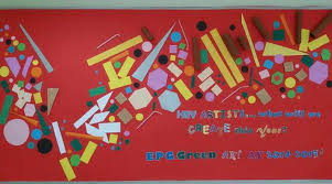 hey artists what will we create this year by reymma f bulletin board ideas