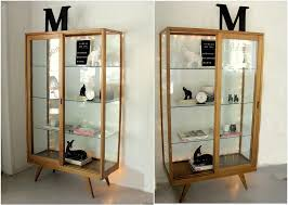 ikea detolf glass curio display cabinet black glass door cabinet home office interiors for your best black ikea glass top