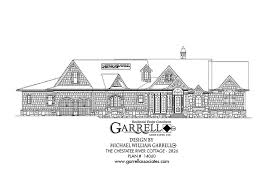 Chestatee River Cottage House Plan   House Plans by Garrell    chestatee river cottage house plan   front elevation