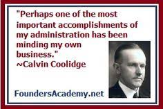 Calvin Coolidge #30 on Pinterest | Presidents, First Ladies and ... via Relatably.com