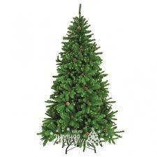 Искусственная <b>елка Лапландия с</b> шишками 150 см, ПВХ, <b>Елки Торг</b>