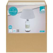 <b>Настольная лампа Eglo</b> «Roseddal» 1хE27x40 Вт, цвет белый ...