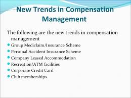 New trends in compensation management SlideShare