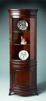 corner furniture. sophisticated corner cabinet for your furniture ideas appealing cherry wooden as curio n