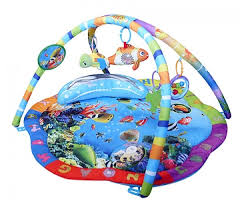 <b>Развивающий коврик La-Di-Da</b> Подводный Мир — купить по ...