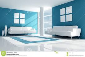 amazing blue and white living room blue and white modern living room royalty free stock photography blue room white furniture