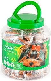 <b>TitBit</b> для собак <b>колбаски Petini</b> с ягненком - банка (2.0 л ...