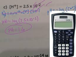 chemistry problem ph