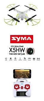 Обзор <b>квадрокоптера Syma X5HW</b>