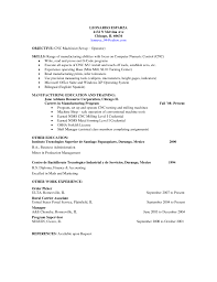 cnc machinist sample resume template cnc machinist sample resume
