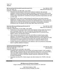alpha company commander resume sample after 2 federal resume sample