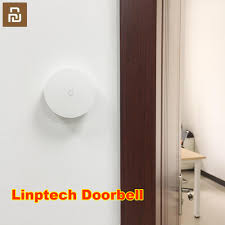 <b>Youpin</b> Linptech WIFI <b>Self power</b> generating <b>Wireless Doorbell</b> Work ...