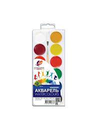 <b>Акварельные краски Луч Классика</b> медовые 12 цветов <b>Луч</b> ...