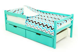 <b>Кровать</b>-<b>тахта</b> детская <b>Бельмарко Skogen</b>, 340054, <b>мятный</b>