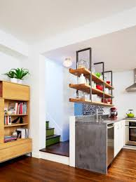 Kitchen Open Shelves 15 Design Ideas For Kitchens Without Upper Cabinets Hgtv
