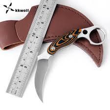 <b>KKWOLF</b> Tactical <b>Karambit</b> Knife <b>Sharp</b> Camping Rescue Survival ...