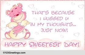 Happy Sweetest Day Cards, Free Happy Sweetest Day Wishes ...